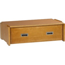 "Woodcrest 1 Drawer Stackable Chest, 30""W"