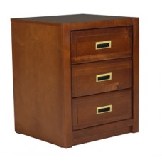 Woodcrest Desk Pedestal w/3 Equal Size Drawers