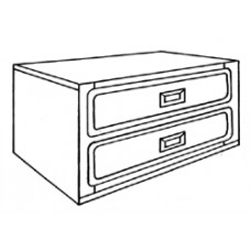 "Woodcrest 2 Drawer Chest, 30""W"