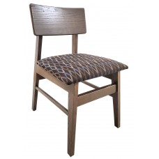 Allegro Side Chair w/Upholstered Seat