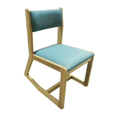 Webster Two Position Chair w/Zydeco Turquoise Seat & Back