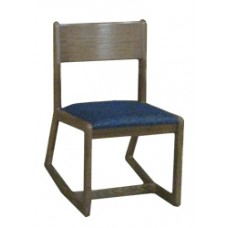 Webster Two Position Chair w/Upholstered Seat & Wood Back