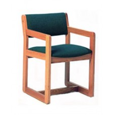 Brycen Arm Chair w/Upholstered Seat & Back