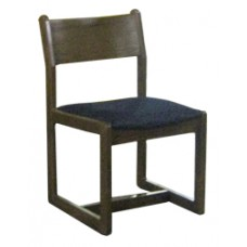 Brycen Side Chair w/Upholstered Seat & Wood Back