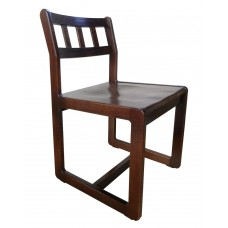 Mission Sedona Unibody Side Chair w/Wood Seat & Back