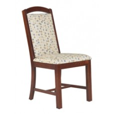 Mission Chair w/Upholstered Seat & Back