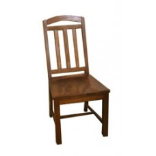 Mission Chair w/Wood Seat & Back
