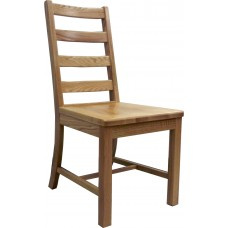 Ladder Chair w/Wood Seat & Back