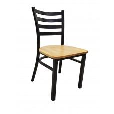 Sedona Metal Chair w/Wood Seat