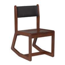 Webster Sedona Unibody Two Position Chair w/Wood Seat & Upholstered Back
