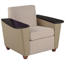 Elle Chair w/Fixed Tablet Arms
