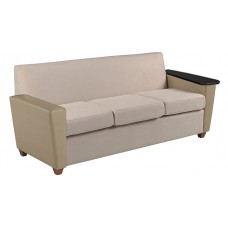 Elle Sofa w/One Fixed Tablet Arm