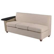 Elle Sofa w/Left Tablet Arm Only