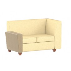 Elle Settee w/Left Arm & Right Corner