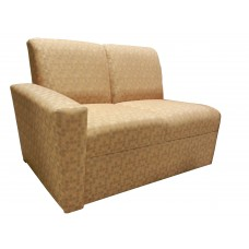 Embody Settee w/Left Arm Only