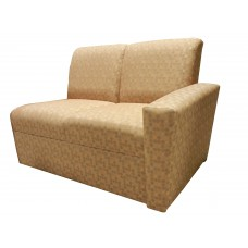 Embody Settee w/Right Arm Only