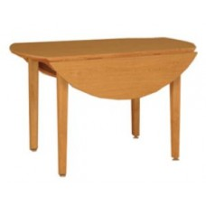 "Nittany Double Drop Leaf Tables w/Round Tops, 48"" Dia"