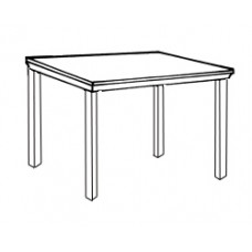 Square Tables w/Square Legs