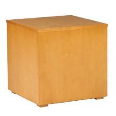 Monaco Cube, 20 x 20 x 20, Wooden