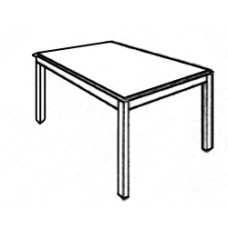Rectangular Tables w/Square Legs