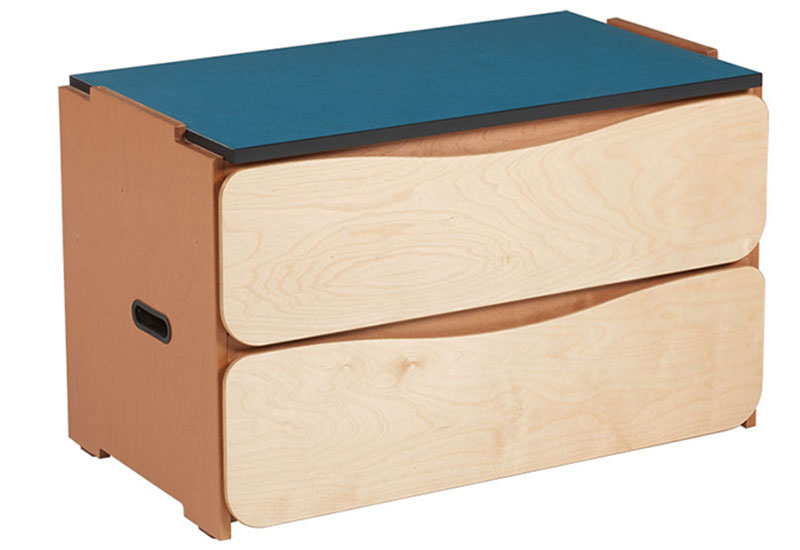 "Aero 2 Drawer Stackable Chest, 36""W"