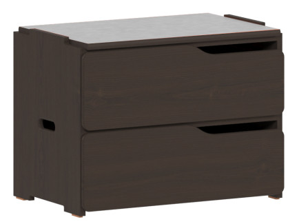 Apollo 2 Drawer Stackable Chest, 30″W