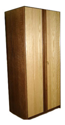 "Homestead Double Door Wardrobe w/Interior Shelf & Clothes Rod, 30""W, 60""H"