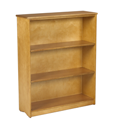 Sedona Bookcase w/1 Fixed Shelf & 2 Adjustable Shelves