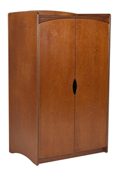 "Sedona Double Door Wardrobe w/Interior Shelf & Clothes Rod, 36""W, 78""H"