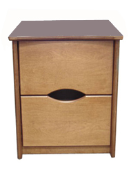Sedona Desk Pedestal w/2 Equal Size Drawers