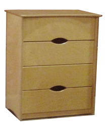 "Sedona 4 Drawer Chest, 36""W"
