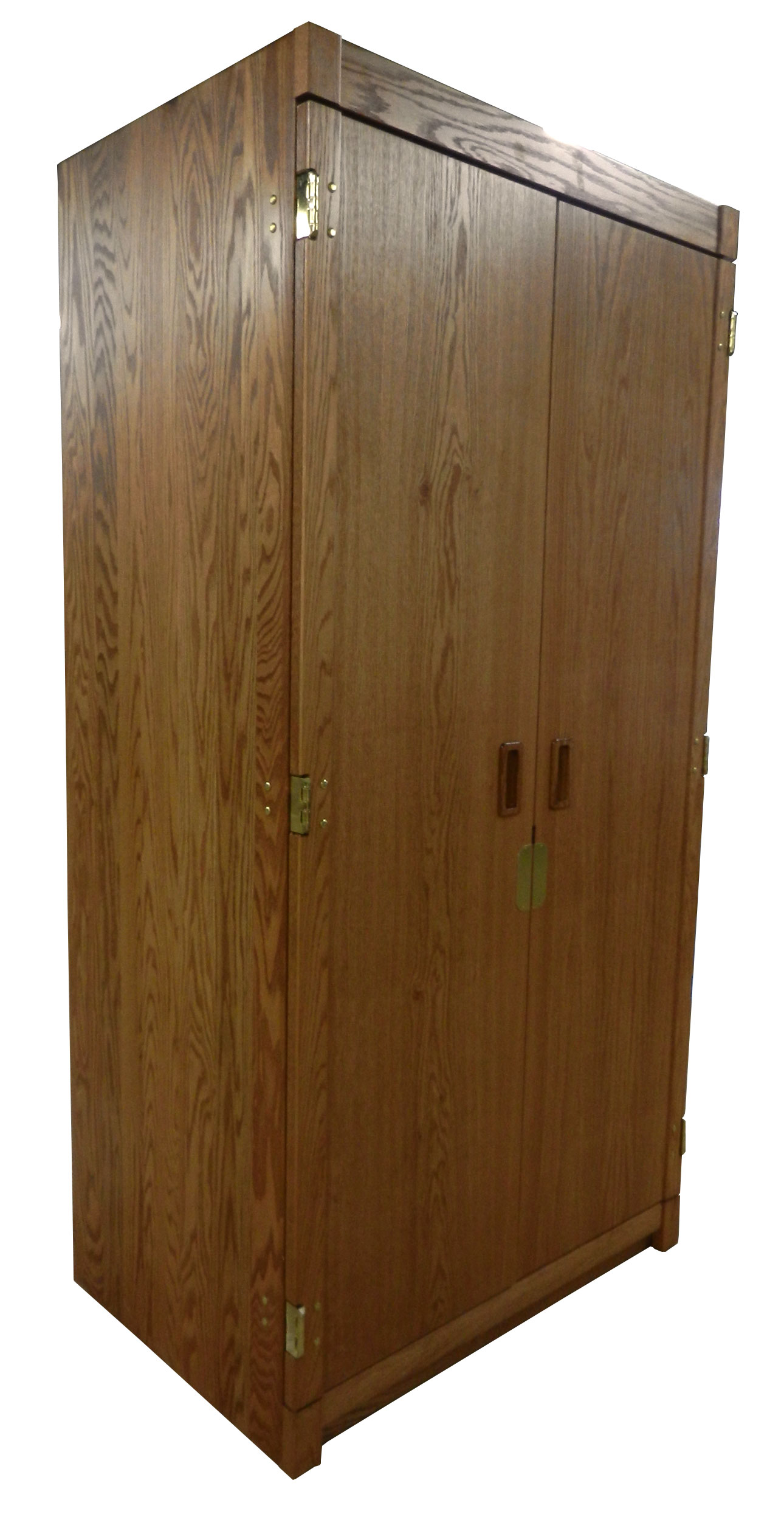 "Woodcrest Double Door Wardrobe w/Interior Shelf & Clothes Rod, 42""W, 78""H"