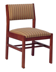 Metro Side Chair w/Upholstered Seat & Back