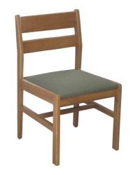 Adam Side Chair w/Upholstered Seat