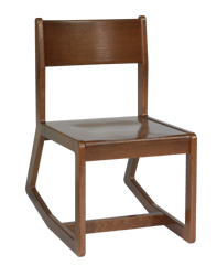 Webster Sedona Unibody Two Position Chair w/Wood Seat & Back