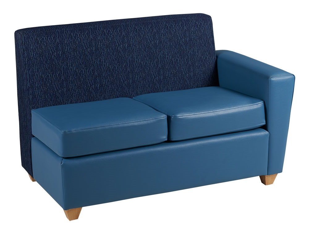 Elle Settee w/Right Arm Only