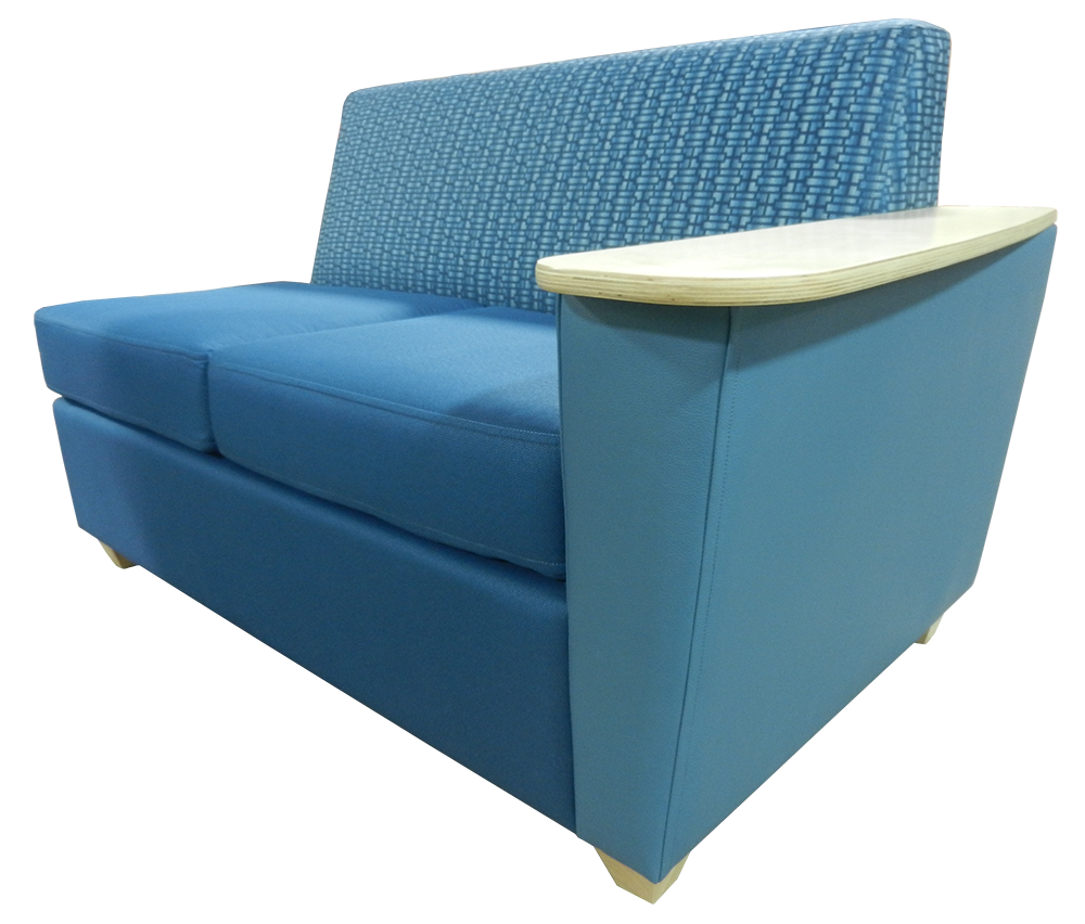 X-Elle Settee w/Right Arm Only