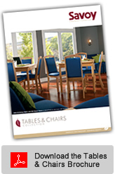 Tables and Chairs Brochure