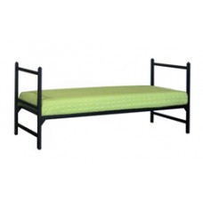Contempo Metal Bed - Horizontal Rails
