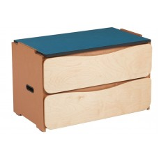 "Aero 2 Drawer Stackable Chest, 30""W"
