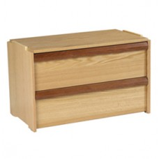 "Homestead 2 Drawer Stackable Chest, 30""W"