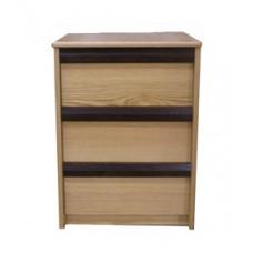 Homestead Desk Pedestal w/3 Equal Size Drawers