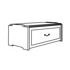 "Madison 1 Drawer Stackable Chest, 30""W"