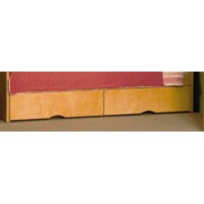 """Sedona 2 Drawer Under Bed Unit - Side by Side, 60""""W"""