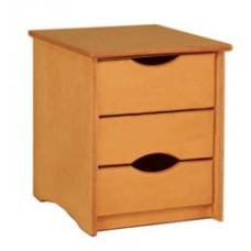 Sedona Desk Pedestal w/3 Equal Size Drawers