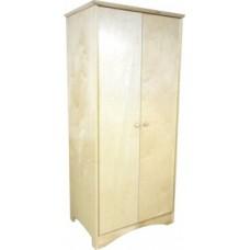"Shaker Double Door Wardrobe w/Interior Shelf & Clothes Rod, 30""W, 60""H"