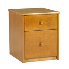 Shaker Desk Pedestal w/1 Box & 1 File Drawer