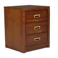 Woodcrest Desk Pedestal w/3 Equal Size Drawers