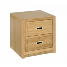 Woodcrest Nightstand w/2 Equal Size Drawers