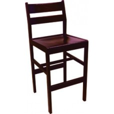 Adam Counter Height Stool w/Wood Seat & Back